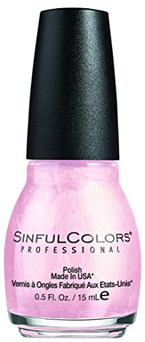Sinful Colors-Smalto per le unghie 376 Glass Pink N ° 15 ml