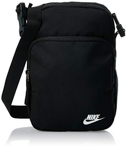 Nike Heritage Smit - 2.0 Zaino Zaino Unisex, Unisex – Adulto, Black/Black/White, One size