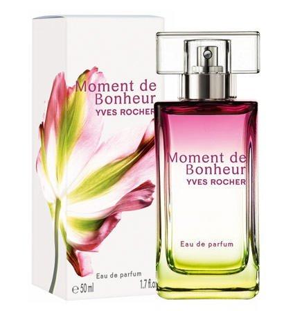 Yves Rocher–Eau de Parfum Moment de Bonheur (50ML): Un Profumo da Donna per momenti piena di felicità, con il Absolue der Rosa Centifolia