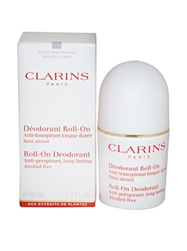 Clarins Deodorante Roll-On Delicato, 50 ml