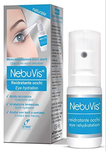 Nebuvis Reidratante Occhi Gocce Oculari in Spray - 10 ml