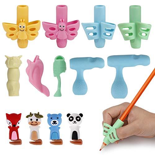 Impugnature Matita Bambini Impugnatura Correzione Della Silicone Ergonomico Matita Grip per Bambini Adulti Necessità Speciali 13 Pezzi