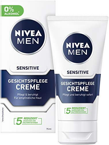 Nivea Men - crema idratante e lenitiva per uomini con pelle sensibile (75 ml)