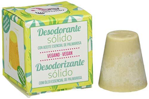 Lamazuna - Deodorante solido con olio essenziale di Palmarosa, 30 g
