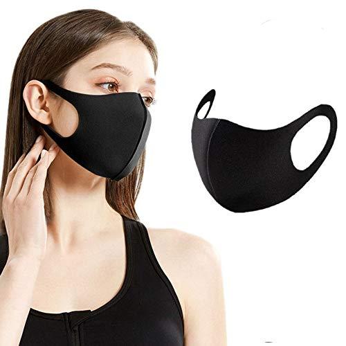 Sb Components - Maschera anti-polvere per viso e bocca, riutilizzabile, lavabile, unisex, anti-inquinamento (1)