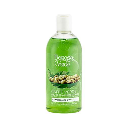Bottega Verde, Caffe Verde - Gel doccia energizzante - con estratto di Caffe Verde e mix di oli essenziali (400 ml) - rivitalizzante express