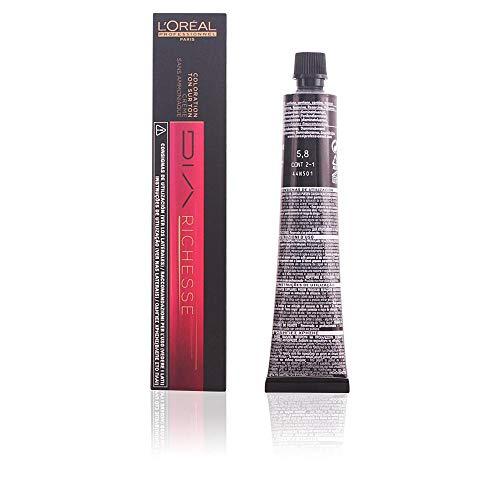 L'Oréal Dia Richesse Colore Professionale per Capelli, 5.8 Moka Cappuccino, 50 ml