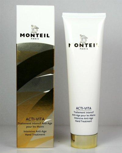 Monteil Acti-Vita, crema per le mani anti-invecchiamento, unisex, confezione da 1 (1 x 100 ml)