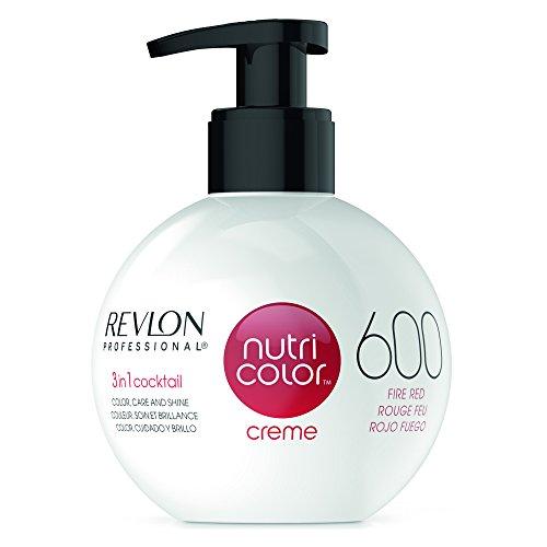 Revlon Professional Nutri Color Crema per capelli, 600 Rosso fuoco, 270 ml