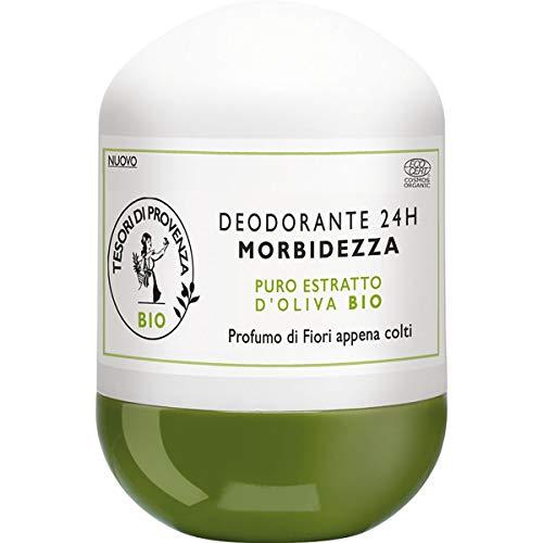 Tesori di Provenza Deodorante BIO , Efficacia e Freschezza a Lunga Durata, con Olio d'Oliva Biologico, Ricco in Polifenoli Antiossidanti, 50 ml