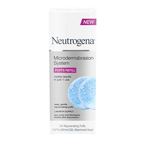 Neutrogena Microdermabrasion System Puff Refills, 24-Count