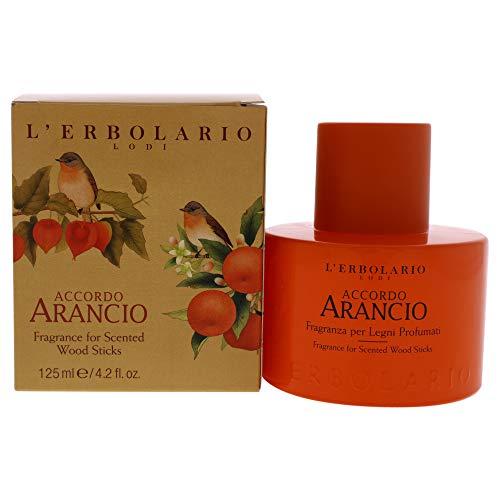 L'Erbolario Accordo Arancio - Fragranza per Legni Profumati, 125 ml