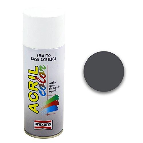 AREXONS RXS025 Smalto Spray Acrilico, Antracite