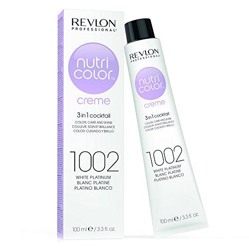 Revlon Professional Nutri Color Crema per capelli, 1002- Platino Bianco - 100 ml