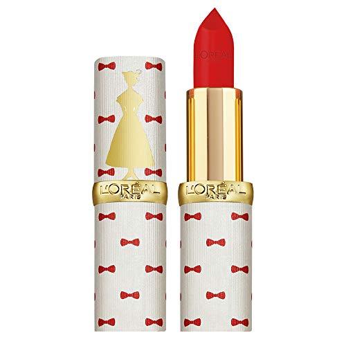 L'Oréal Paris Rossetto Lunga Durata Color Riche, Edizione Limitata Disney Mary Poppins, Idea Regalo Donna, Finish Matte, 346