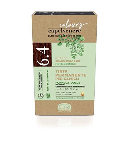 Helan - Capelvenere Colours 6.4 Biondo Scuro Rame, 151 ml
