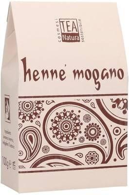 TEA NATURA - Henné Rosso'Mogano'(Lawsonia + Indigofera) -Erba tintoria 100% ecobio per colorare e rinforzare i capelli in modo sano e sicuro - Rafforza il capello - Effetto volume - 100 gr