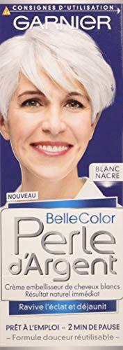 Garnier–Belle Color–Perla D' argento–Crema déjaunisseur Lucentezza Capelli Bianchi Bianco–bianco madreperla