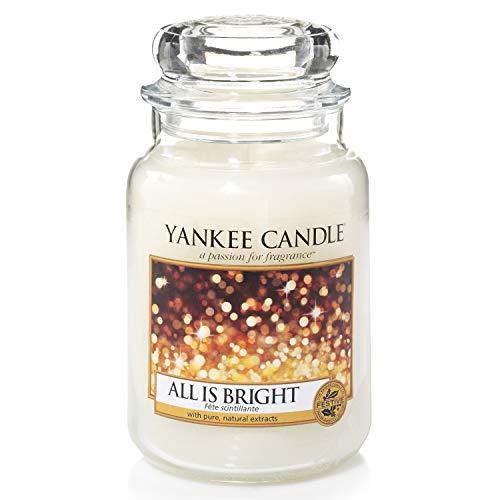 Yankee Candle Candela profumata in giara grande | Tutto splende | Durata Fino a 150 Ore