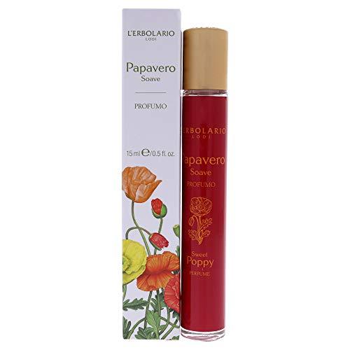 L'Erbolario Papavero Soave Eau de Parfum, confezione da 1 (1 x 15 milliliters)