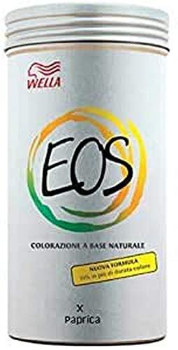 Wella - Eos Colore Paprica 120 Gr- Linea Eos Colorazione Naturale -