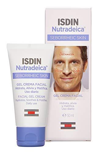 Isdin Nutradeica Gel Crema Viso | Trattamento Viso per pelle a tendenza seborroica 1x50ml