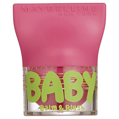 Maybelline New York Baby Lips Balm&Blush Balsamo Labbra e Blush, 2 Flirty Pink
