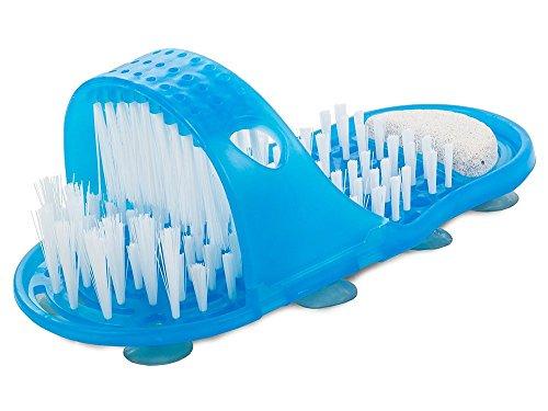 HUKITECH@ Spazzola per piedi – Pulizia e massaggio per piedi – Spazzola per la cura dei piedi – Spazzola massaggiante per la rimozione dei calli