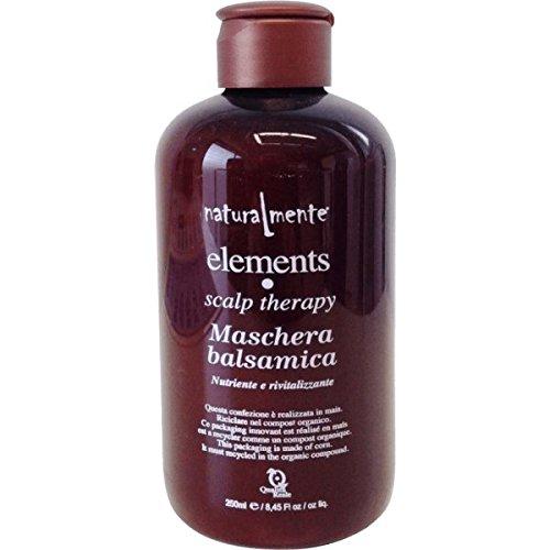 Naturalmente EL25005Maschera Capelli Balsamica Nutriente e Rivitalizzante, 250 ml