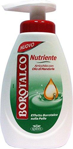 12 x BOROTALCO Sapone Liquido Nutriente Olio Di Mandorla 250 Ml