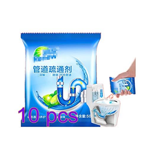 XINGXINGFAN 10 Pz Tubo di Scarico Draga Deodorante Potente Pulizia per Lavello Bagno Cucina