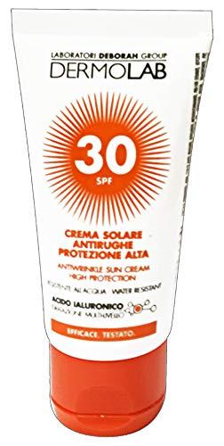 DERMOLAB - Dlab Solari Crema Viso Spf30, Vanilla, 50 Millilitro
