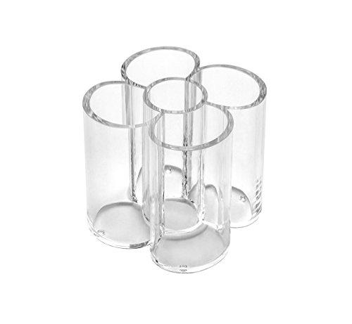 Osco AORG-1 Clear Acrylic 5 Round Tube Holder