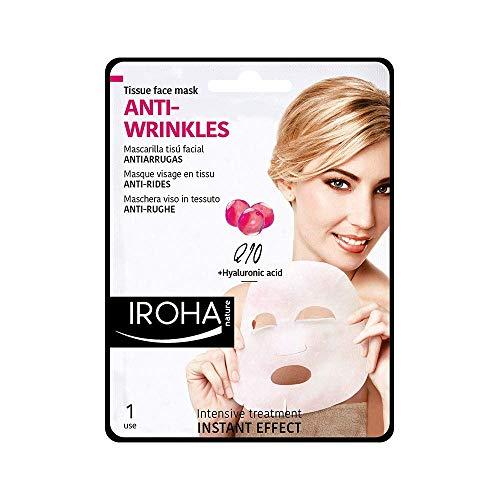 Iroha Nature - ANTI-RUGHE maschera viso - Q10