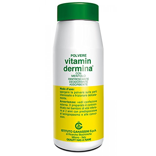 Talco Per Bambini Polvere Con Mentolo Vitamin Dermina 100 G