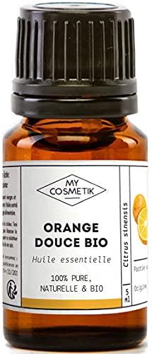 Olio essenziale di arancia dolce Organico - MyCosmetik - 10 ml