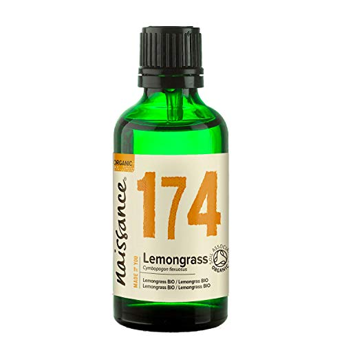 Naissance Olio di Lemongrass Biologico – Olio Essenziale Puro al 100% - 50ml
