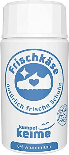Frischkäse - La polvere microbiologica per scarpe - Deodorante per scarpe contro l'odore dei piedi - Meglio di uno spray - Freschezza per scarpe da lavoro, scarpe di sicurezza, scarpe sportive e altro