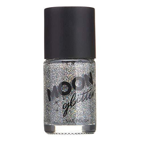Smalto Olografico Glitter by Moon Glitter - 14ml - Argento