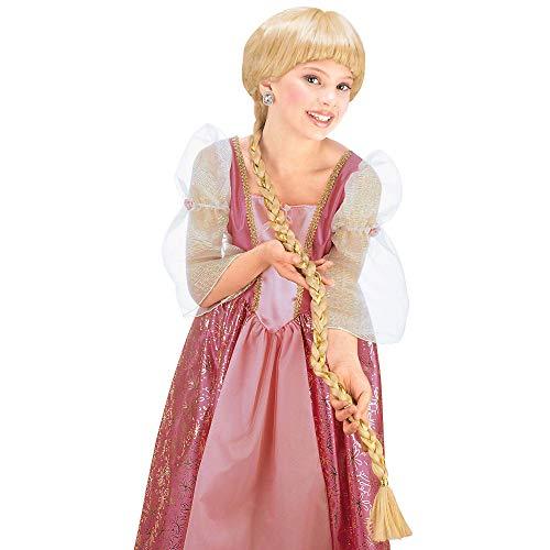 WIDMANN Parrucca Bimba Rapunzel Accessori Travestimento Carnevale