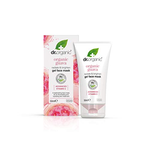 Dr. Organic Maschera Viso Gel Illuminante, Guava e Advanced Vitamin C - 580 Gr