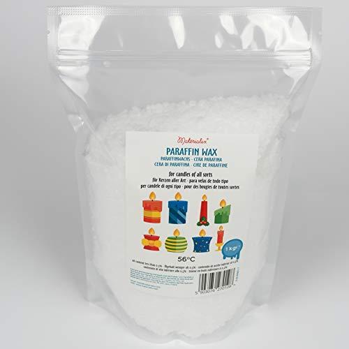 Materialix Cera di paraffina per candele - varie dimensioni (1kg)