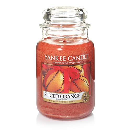 Yankee Candle Candela profumata in giara grande | Arancia piccante | Durata Fino a 150 Ore