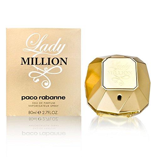Paco Rabanne Lady Million Eau de Parfum, Donna, 80 ml