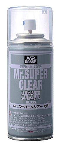 Gundam Paint Mr. Hobby Mr. Super Clear Glossy 170ml B-513