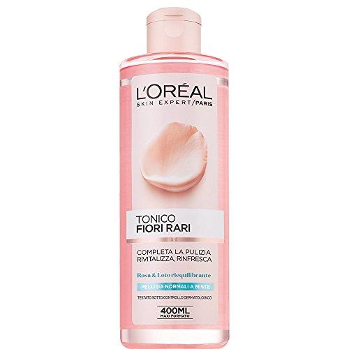 L'Oréal Paris Fiori Rari Tonico Viso per Pelli Normali Miste - 400 ml