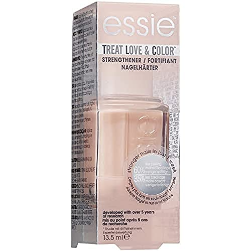 Essie Collezione Treat Love&Color Smalto Semipermanente Rinforzante per Unghie, 02 Tinted Love - 30 g
