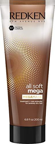 Redken All Soft Mega MegaMask, Maschera professionale idratante e nutriente, per capelli estramamente secchi e fragili - 200 ml