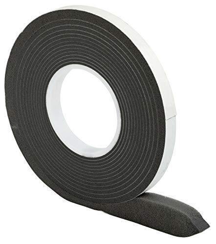 Nastro di compressione 20/3 │ antracite │ 1 pezzo │ 10 m di lunghezza │ larghezza rotolo: 20 mm, larghezza giunto: 3-15 mm │ nastro sigillante per giunti │ nastro gonfiabile