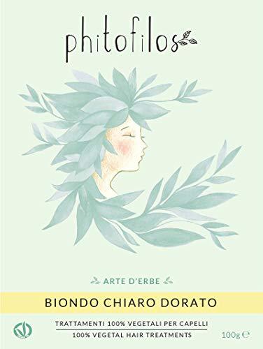 PHITOFILOS HENNÈ BIONDO CHIARO 100GR 100% VEGANO ECOBIO ERB059